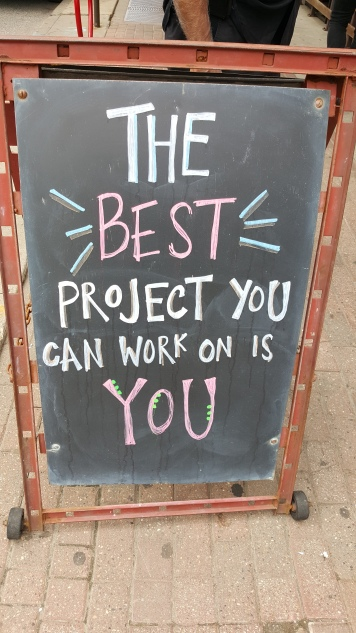 Best Project to Work On is You